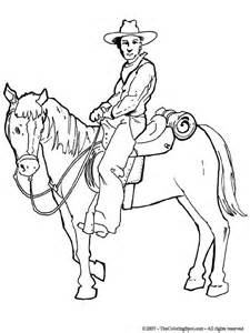 coloring pages of cowboys and horses cowboy 3 audio stories for free coloring