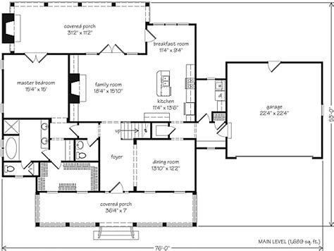 southern living open floor plans seven pines mitchell ginn southern living house plans