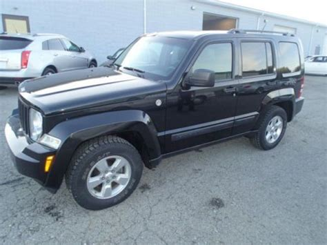 wrecked jeep liberty buy used 2010 jeep liberty sport 4wd salvage damaged