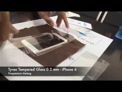 Tyrex Tempered Glass 2 3 4 tyrex tempered glass iphone 6 0 2mm cara langkah