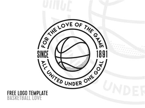 Ian Barnard Free Premium Products For Designers Basketball Team Logo Template