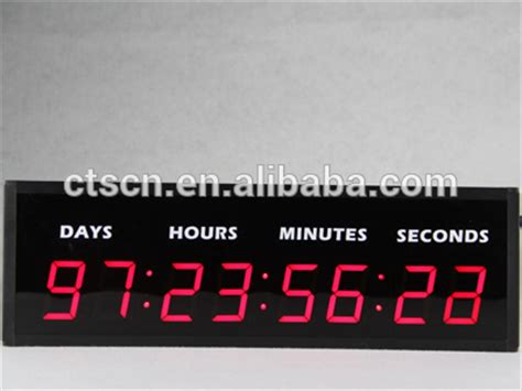 outdoor christmas countdown digital clock led digital custom countdown countdown clock outdoor view countdown clock