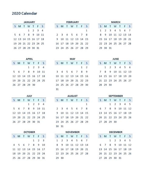 yearly calendar printable  months calendar shelter