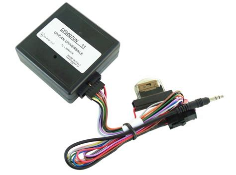 autoradio con telecomando al volante kenwood mbus07 base centralina con protocolli can