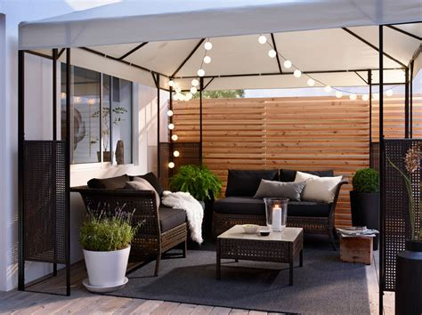 ikea patio ikea garden balcony ideas make the most of your space