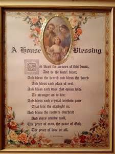 house blessing catholic holy cards prayers