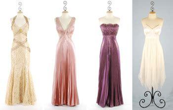 imagenes de noche retro vestidos de noche largos estilo vintage web de la moda