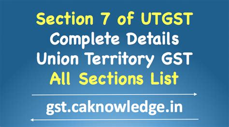 Section 7 Of Utgst Levy And Collection Under Union