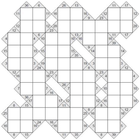 free printable sudoku kakuro kakuro 10 x 10 puzzle 6 kakuro 10 x 10 to print and download