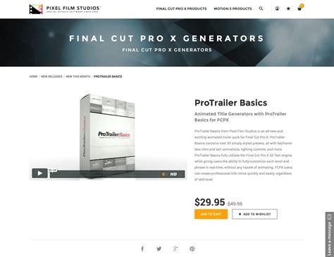 final cut pro basics pixel film studios production team released protrailer