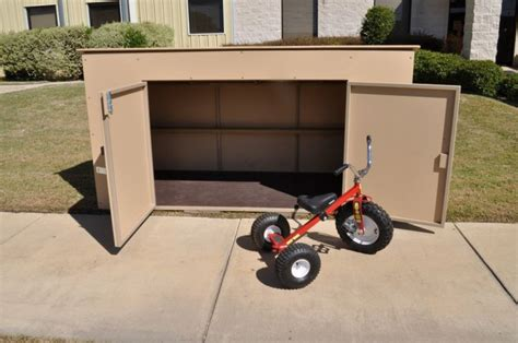 Shed Tricycle trike shed