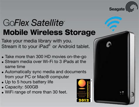 Hardisk External 500gb Seagate Goflex seagate goflex satellite 500gb wifi external hdd pch