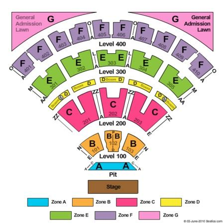 budweiser stage tickets and budweiser stage seating charts