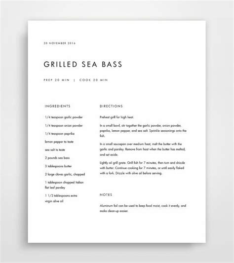recipe book template best 25 recipe templates ideas on clean book