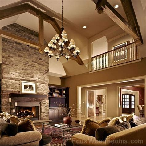 house with high ceilings high ceilings and wood beams for the home pinterest
