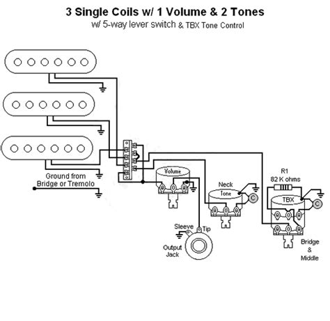 fender stratocaster tbx wiring diagram diagrams tone