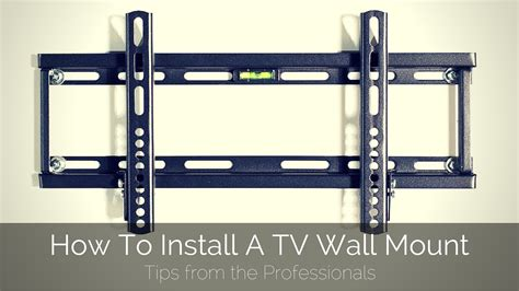 how to install a tv wall mount firefold blog