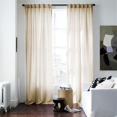contemporary window curtains luxe window panel gold contemporary curtains by