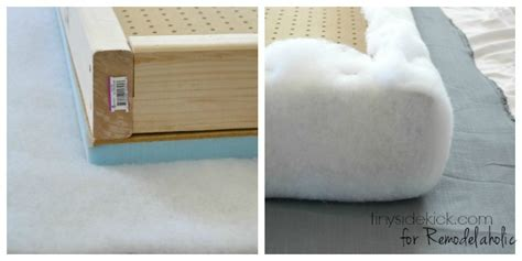 upholstery how to do corners diy upholstered headboard with a high end look