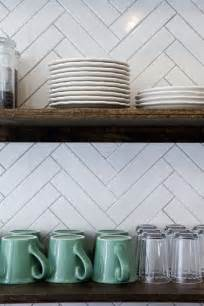 Kitchen Backsplash Subway Tile Patterns by Kitchen Backsplashes Dazzle With Their Herringbone Designs