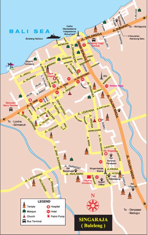 map singaraja bali bali weather forecast and bali map info detail singaraja