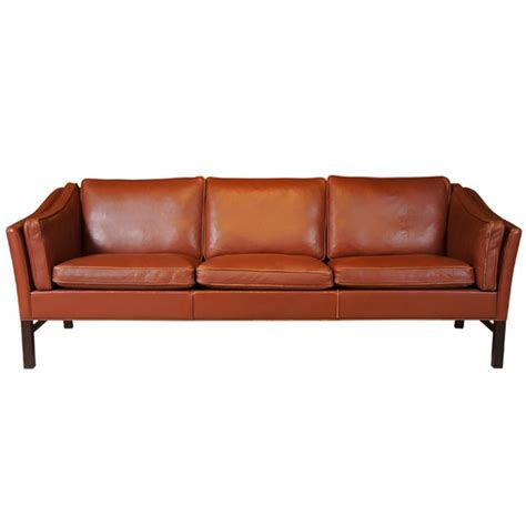 danish sofas danish modern leather sofa
