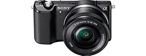Sony Alpha Ilce A5000 L 1650 Black Kamera sony alpha a5000 mirrorless digital with 16 50mm