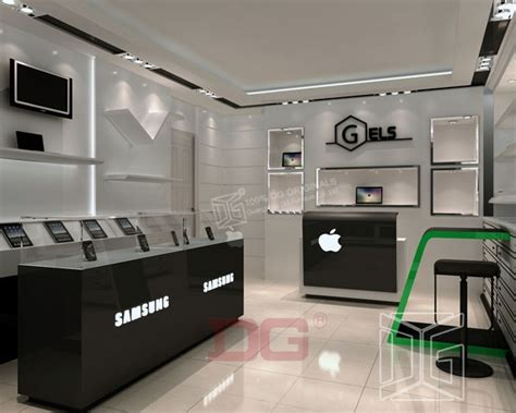 new mobile shop el61 high end mobile shop furniture design guangzhou
