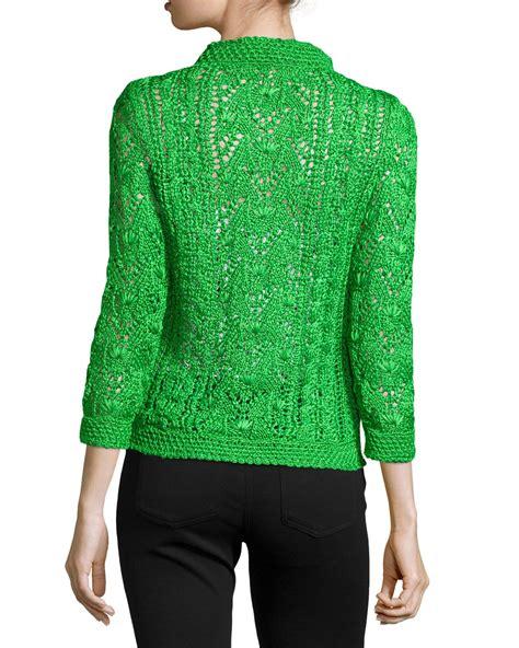 knit pullover sweater oscar de la renta cable knit silk pullover sweater in