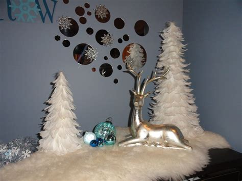 White Christmas Tree Decorated As A Snowman Christmas Light Tester Locates Bad Bulbs