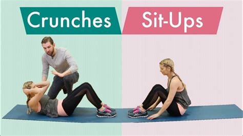 best crunches crunches vs sit ups which one is best and how to do it
