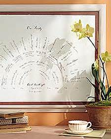 martha stewart tree instructions family tree fan chart step by step diy craft how to s and martha stewart