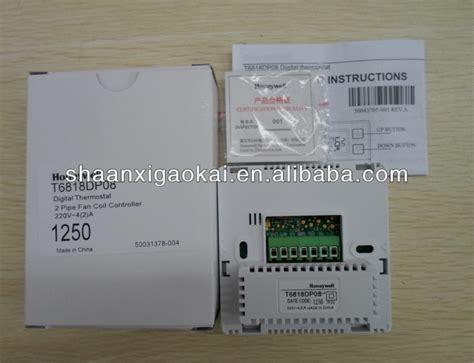 Honeywell T6818dp08 Thermostat Original Honeywell Digital Thermostat Honeywell Room