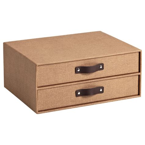 Paper Drawers by Chestnut Bigso Marten Paper Drawers The Container Store