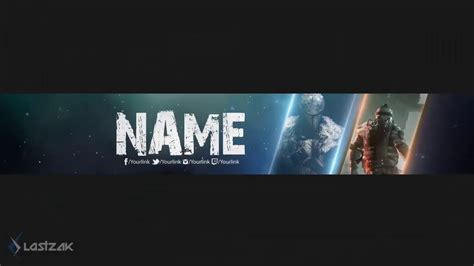 Free Gaming Youtube Banner 19 Psd Template Speed Art Free Download Youtube Gaming Banner Template Psd