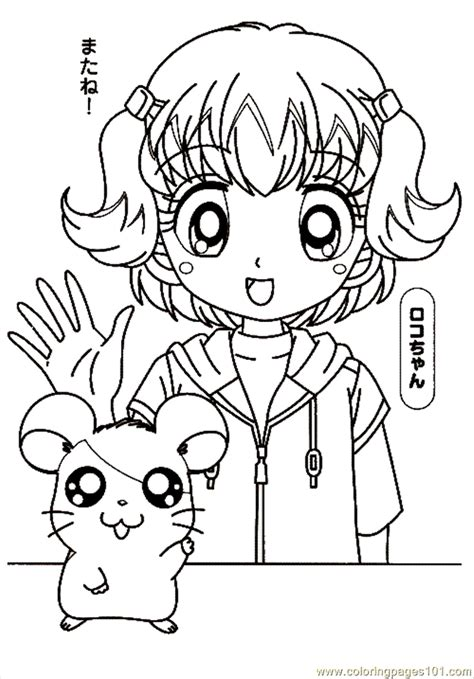 hamtaro coloring pages online hamtaro coloring page free hamtaro coloring pages