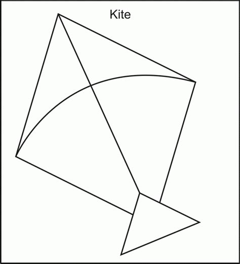 kite coloring page printable easy free printable kite coloring pages for kids nice