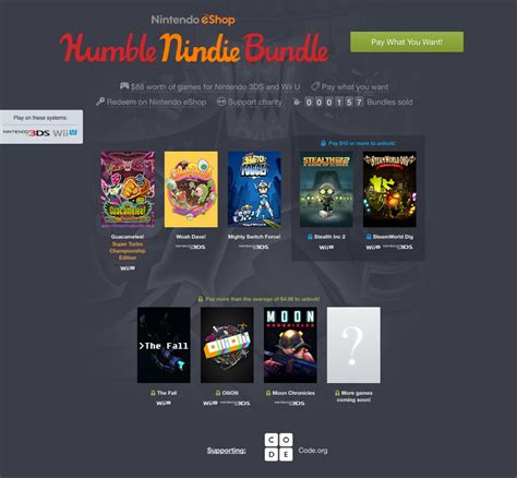 Humble Bundle Nintendo Gets A Humble Bundle And It S All Indies Polygon