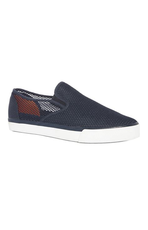 primark shoes for a stylish and comfortable navy mesh slip on shoe for