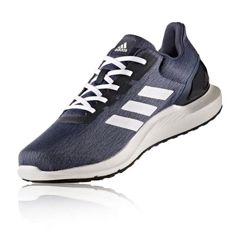 adidas cosmic 2 mens running shoes ink white blue