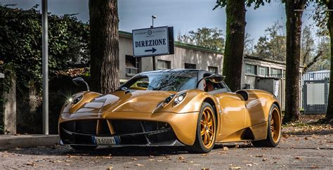 Pagani Huayra Gold Edition Photo Gallery Ebeasts Com