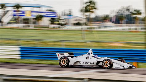 Staging Images by Indycar Tested Its 2018 Body Kit At Sebring And The Drive