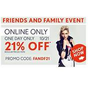 Online Coupons For Forever 21  2017 2018 Best Cars Reviews