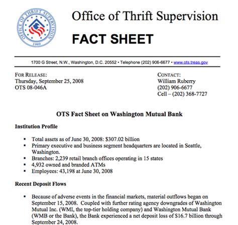 Office Of Thrift Supervision by The Big Picture