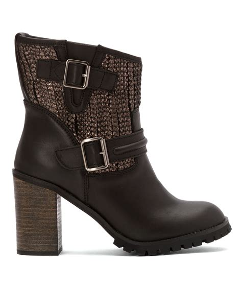 laundry boots laundry s leafy boots in brown black lyst