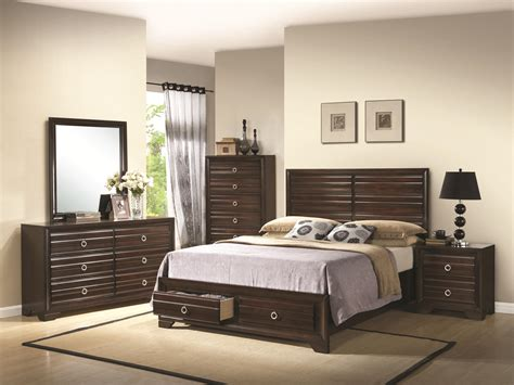 eastern king bedroom sets bryce 4pc eastern king bedroom set
