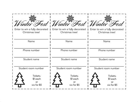 printable tickets pdf sle raffle ticket template 20 pdf psd illustration