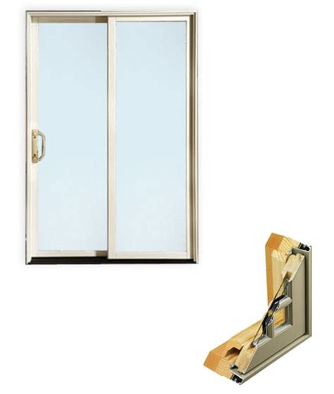 Aluminum Clad Exterior Doors Sliding Aluminum Clad Patio Door Door And Millwork Distributors Inc Chicago Wholesale
