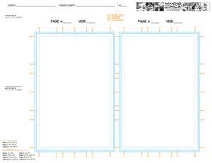 book layout template page aspect ratios templates comics