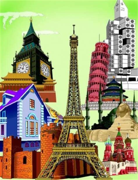 Gantungan Kunci Unik Negara Inggris Big Ben berbagai bangunan kota wellknown vektor vektor misc vektor gratis gratis